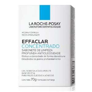 La Roche-Posay Effaclar Sabonete Pele Oleosa e Acneica 70g