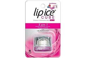 Lip Ice Cube Protetor Labial Romã E Blueberry FPS15