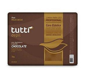 Tutti Depil Cela Depilatória A Quente Chocolate 1kg