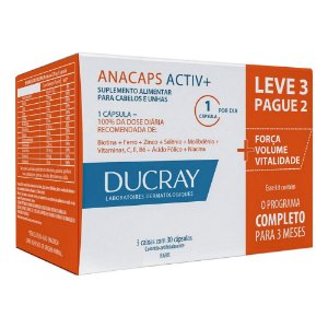 Ducray Kit Anacaps Activ+ 90cps