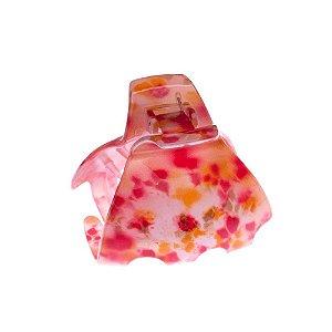 Finestra N747Lr Piranha Floral Verm/Am 6,2X6,0cm