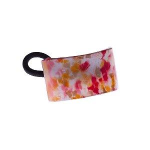 Finestra N359Lr Elastico Floral Verm/Am 5,0X3,0