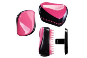 Tangle Teezer Compact Black Pink
