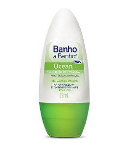 Banho a Banho Desodorante Roll on Ocean 55ml