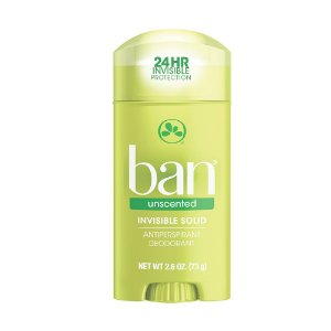 Ban Desodorante Sólido Sem Perfume 73g