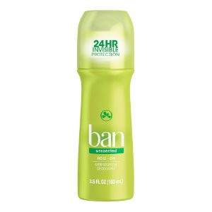 Ban Desodorante Roll On Sem Perfume 103ml