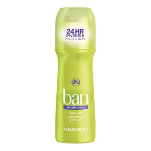 Ban Desodorante Roll On Simply Clean 103ml