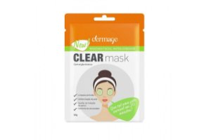 Dermage Clear Mask Máscara Facial Antioleosidade 10g