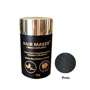 Hair Maker Fibras Capilares Preto