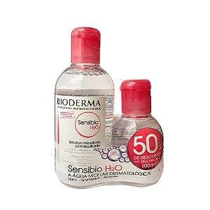 Bioderma Sensibio H2O 250ml + 1 Sensibio H2O 100ml