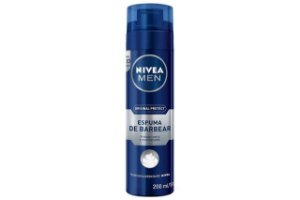 Nivea Espuma de Barbear Original Protect 200ml