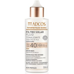 Adcos Filtro Solar Fluid Tonalizante FPS 40 Nude 50ml