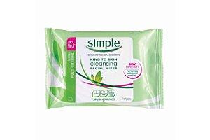 Simple Lenço Facial Cleansing 7 Unidades