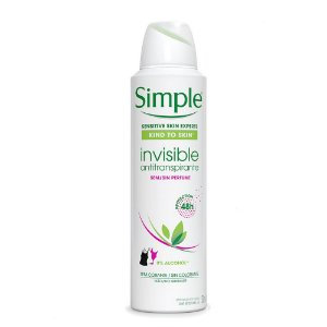 Simple Desodorante Aerosol Invisible 150ml