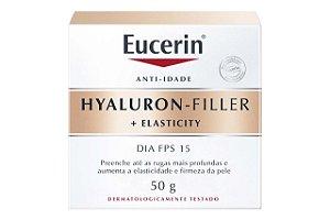 Eucerin Hyaluron Filler Elasticity Dia Anti-idade FPS15 50g