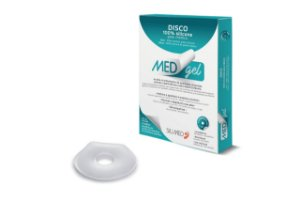 Medgel Silimed Disco de Silicone Cicatrizante c/ 2 und