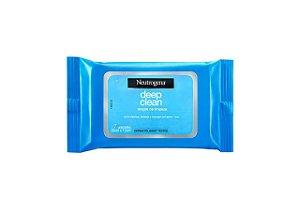 Neutrogena Lenço Demaquilante Deep Clean 7 Unidades