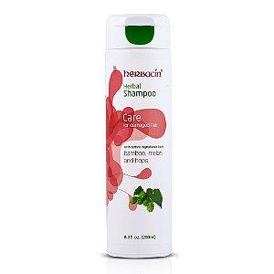 Herbacin Herbal Shampoo Cuidados com Cabelos Danificados 250ml