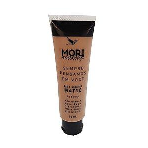 Mori Makeup Base Matte Cor Escura