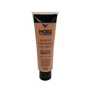 Mori Makeup Base Matte Cor Media Clara