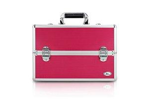 Jacki Design Maleta Profissional de Maquiagem Cor Pink