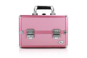 Jacki Design Maleta Profissional de Maquiagem Retang. P Cor Pink