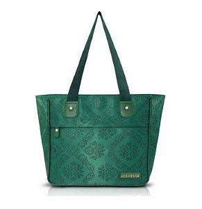 Jacki Design Bolsa Shopper Damasco Cor Verde
