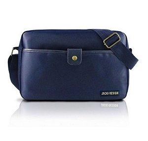 Jacki Design Bolsa Transversal Masculina Cor Azul