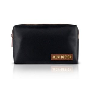 Jacki Design Necessaire de Bolsa Masculina Preto e Marrom