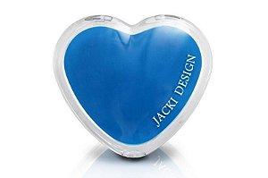 Jacki Design Espelho de Bolsa Coração Cor Azul