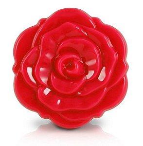 Jacki Design Espelho de Bolsa Flor Cor Vermelho