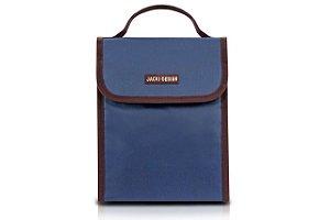 Jacki Design Bolsa Térmica c/ Fecho Cor Azul Escuro