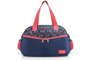 Jacki Design Bolsa de viagem Cor Azul e Rosa