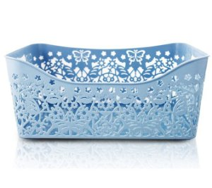 Jacki Design Cesto Organizador Tam G Retangular Cor Azul