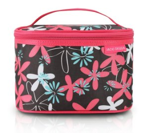 Jacki Design Necessaire Frasqueira Estampa Tam P Pink Floral