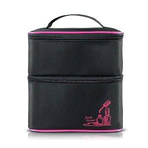 Jacki Design Necessaire Para Esmalte Tam M Cor Pink