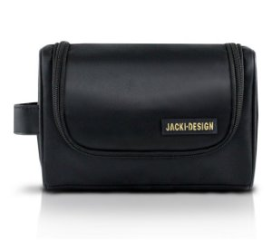 Jacki Design Necessaire com Alça Lateral Masculina Cor Preto