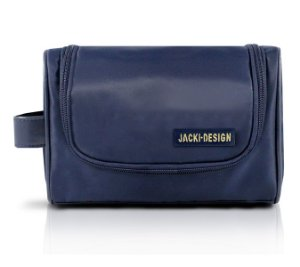 Jacki Design Necessaire com Alça Lateral Masculina Cor Azul