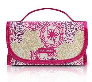 6b6a3be57f Jacki Design Necessaire Rocambole Cor Pink