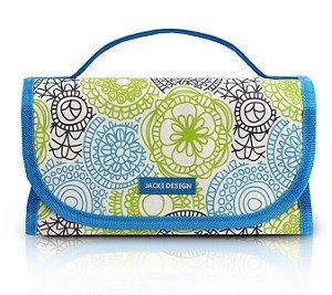 78dce02975 Jacki Design Necessaire Rocambole Cor Azul