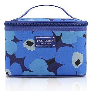 Jacki Design Necessaire Frasqueira Cor Azul