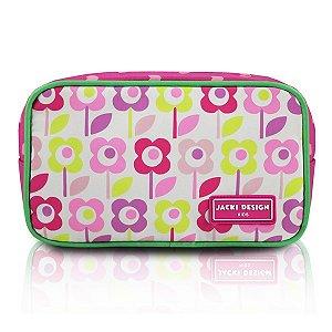 Jacki Design Necessaire E Estojo Flor Pink