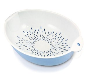 Jacki Design Conjunto De Escorredor Com 2 Peças Cor Azul