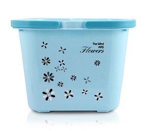 Jacki Design Caixa Organizadora Com 2 Peças Cor Azul