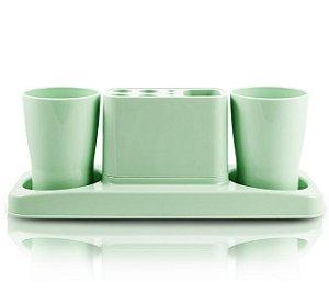 Jacki Design Kit De Banheiro De 4 Peças Cor Verde