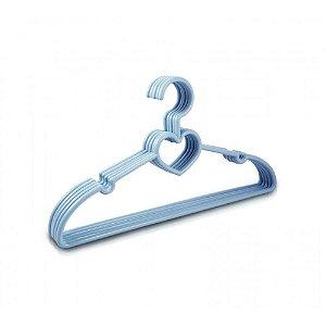 Jacki Design Cabide Com 5 Peças Bebê Cor Azul