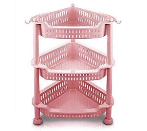 Jacki Design Organizador De 3 Andares Cor Rosa