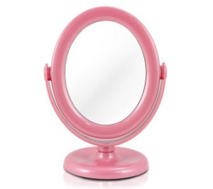 Jacki Design Espelho de Mesa Cor Rosa