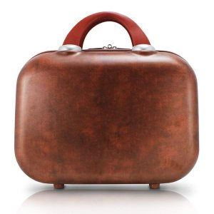Jacki Design Frasqueira Vintage Cor Marrom