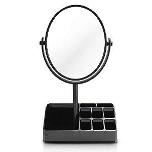 Jacki Design Espelho De Mesa Com Divisórias Cor Preto